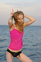 Angie Just Turned Eighteen And Goes Nude At The Beach - Picture 4