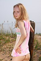 Skinny Petite Teen Angie Totalsupercuties Nude Shaved Pussy - Picture 1