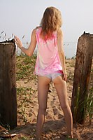 Skinny Petite Teen Angie Totalsupercuties Nude Shaved Pussy - Picture 8